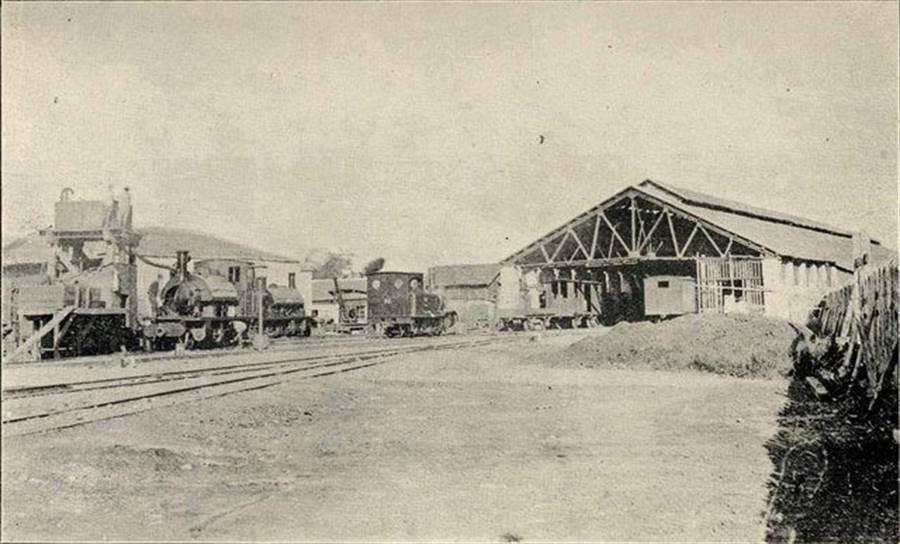 第一代台北車站(圖片取自/PTT 網友mnhyuiop)
