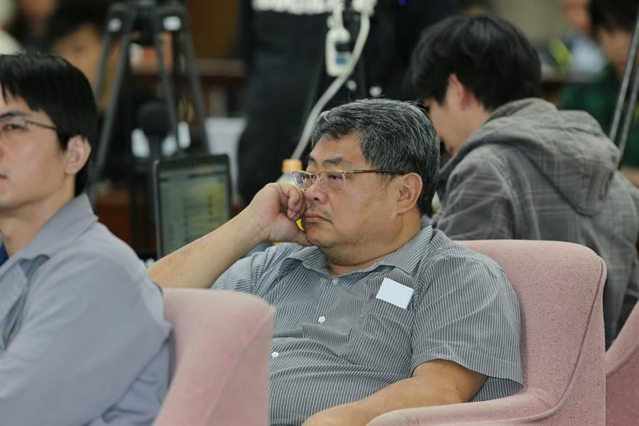 彰化活力旺企業協會榮譽理事長蕭明仁。(黃世麒攝)