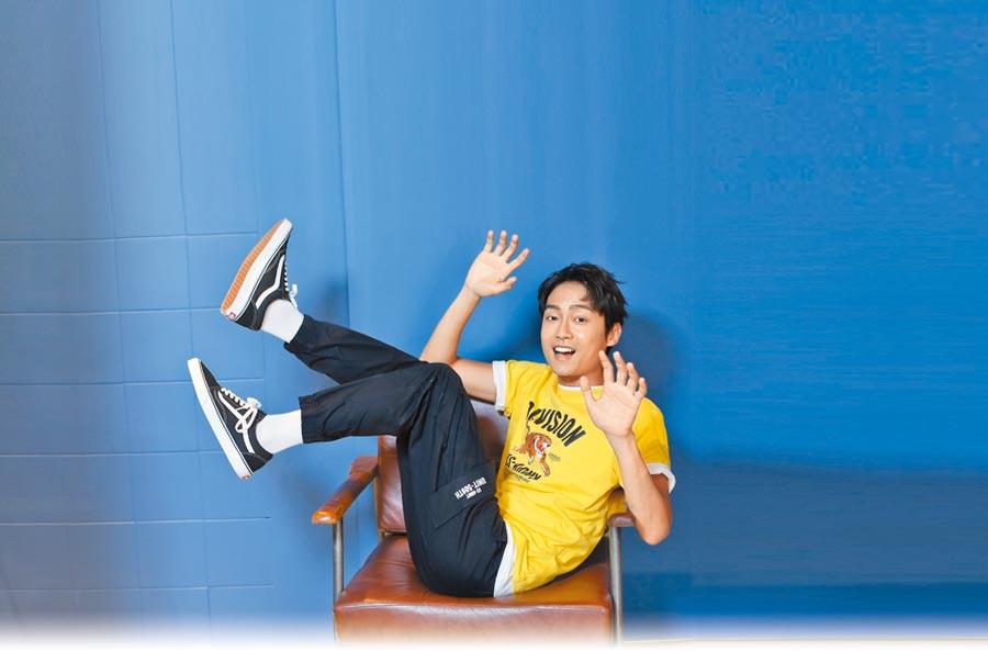 大鶴喜劇表演功力了得,未來想挑戰愛情戲和有深度的角色。(陳俊吉攝)