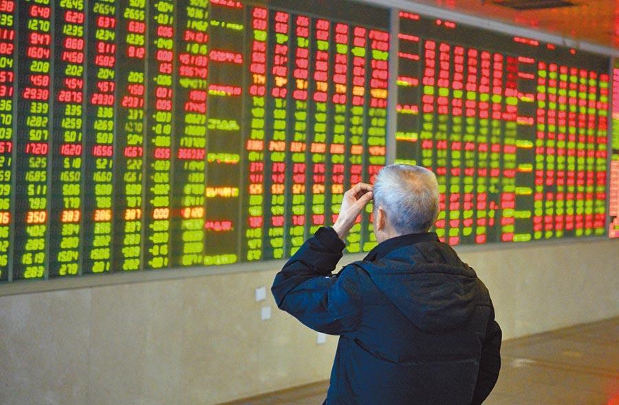 中美貿易戰衝突升級增添全球股市回檔壓力。(中新社)