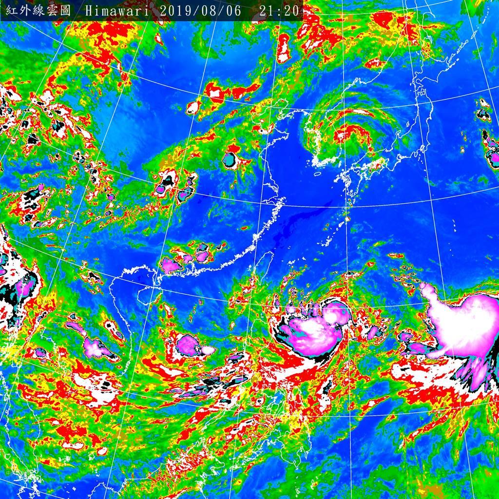 利奇馬颱風來勢洶洶,恐變為北部人的惡夢「西北颱」 (圖/中央氣象局)