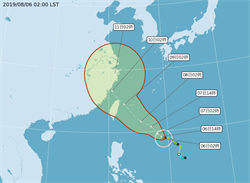 利奇馬恐變「西北颱」吳德榮:是颱風季中最強的