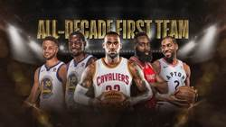 NBA》過去十年最佳陣容 詹皇KD柯瑞領軍