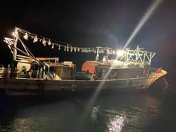蘇澳漁船海上拋錨 海巡隊救援