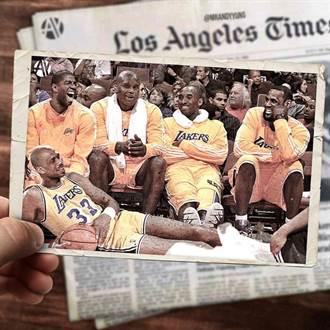 NBA》湖人最豪華五人 歐尼爾自嘲打四號