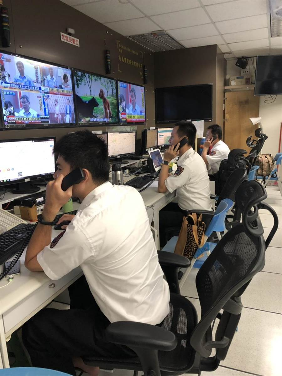 謊報119行為不但違法,還會造成消防機關消防資源的浪費,影響真正急難案件的救援。(台南市消防局提供)