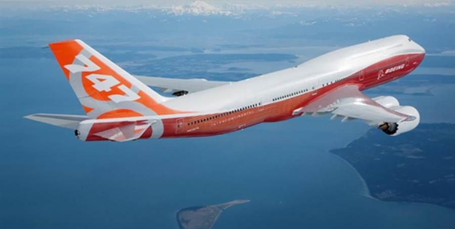 將改裝為空軍1號美國總統新專機的波音747-8客機。(波音)