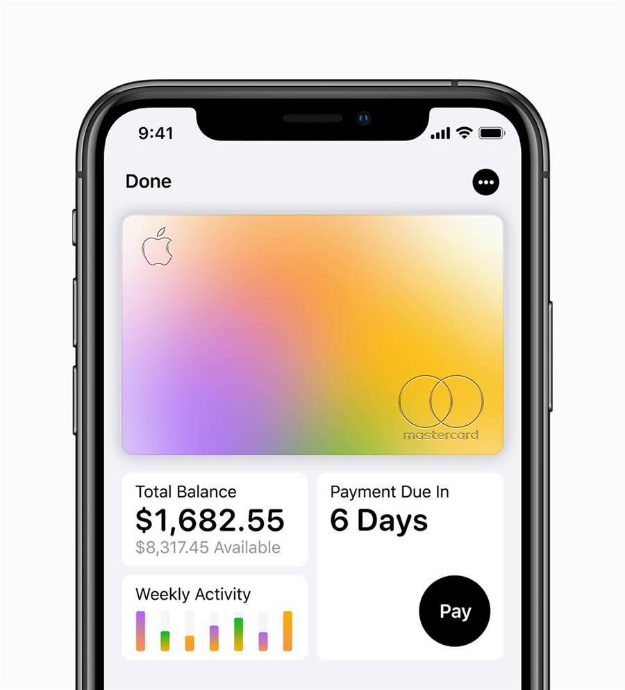 Apple Card現金回饋無上限,預定八月推出。(圖/翻攝蘋果官網)