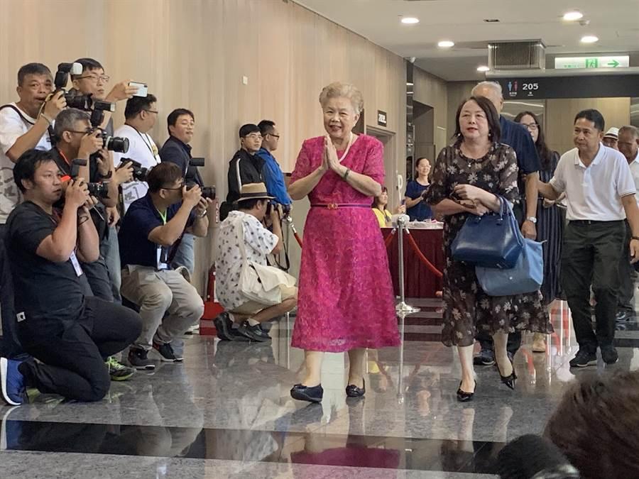 台北市長柯文哲母親。(圖/本報系資料照)