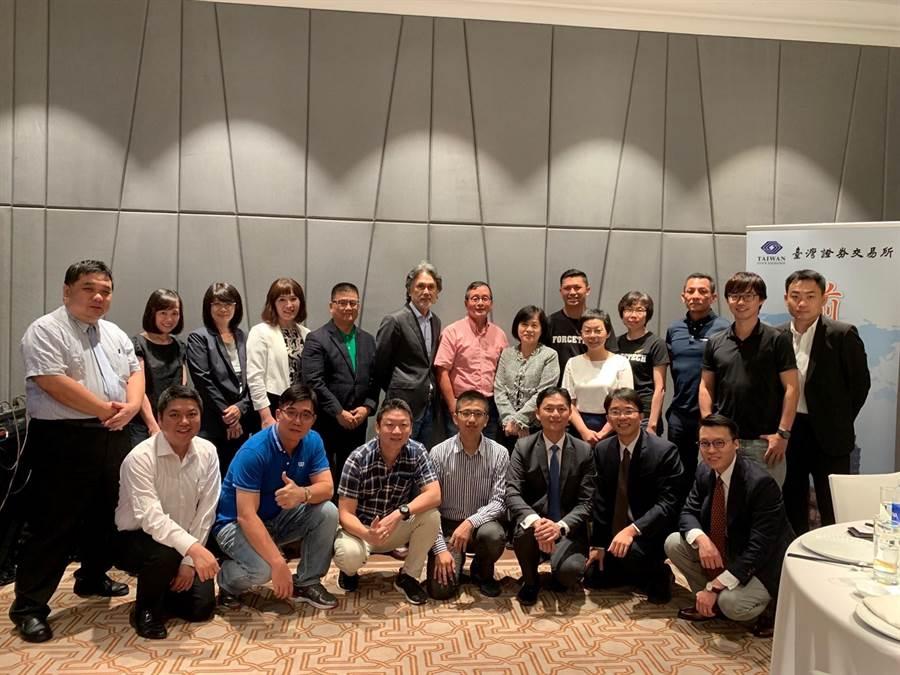 證交所於8月初與元大證券合作赴越南、柬埔寨等地招商,拜訪企業包含電子、紡織、橡膠加工等產業。(證交所提供)