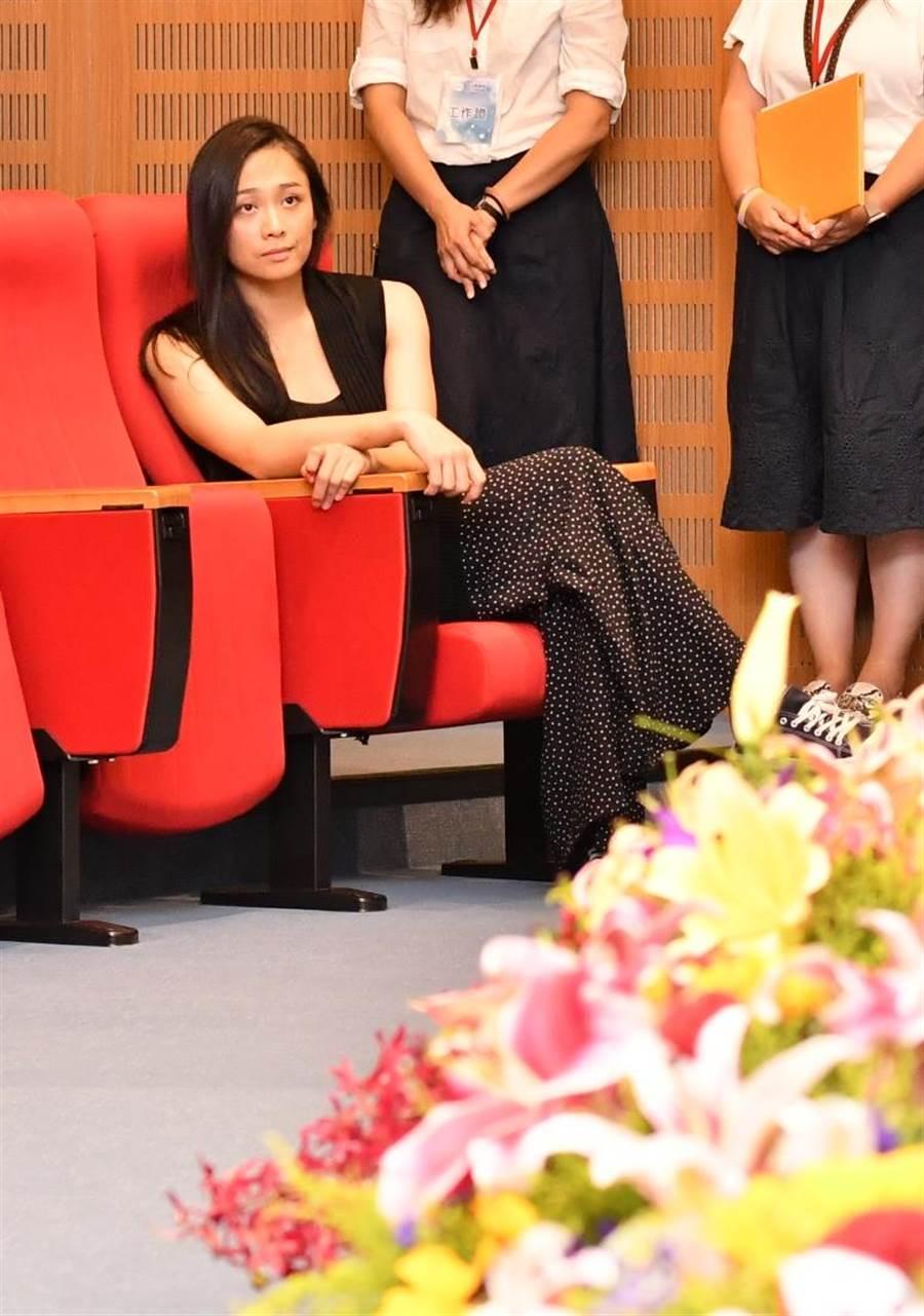 吳思瑋創辦彰化在地的專業舞團「聲舞團」,將受邀出席13日彰化地方治理論壇首場「地方創生、青年返鄉」與談人。(謝瓊雲攝)