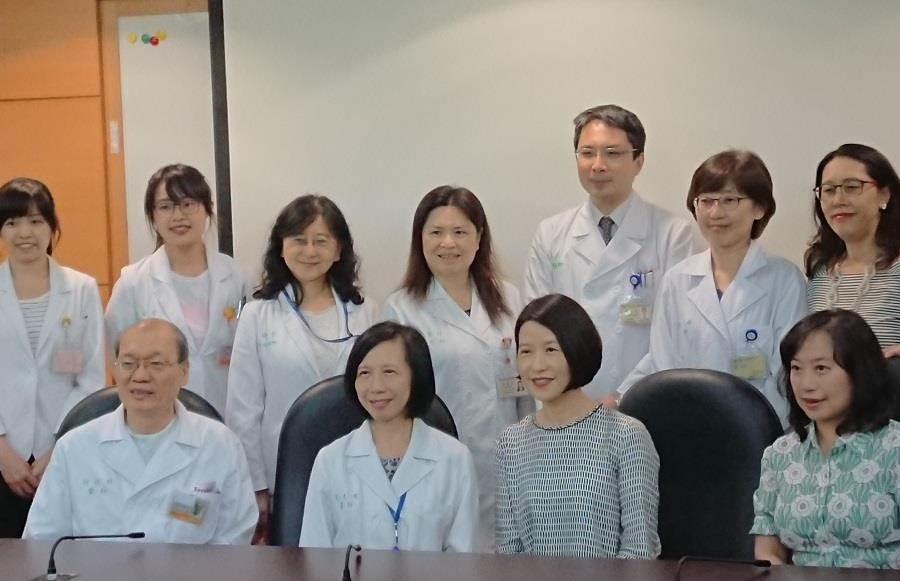 台大兒童醫院獲得全國兒童慈善協會捐贈150萬元延續「兒童聽力守護計畫」。(陳志祥攝)