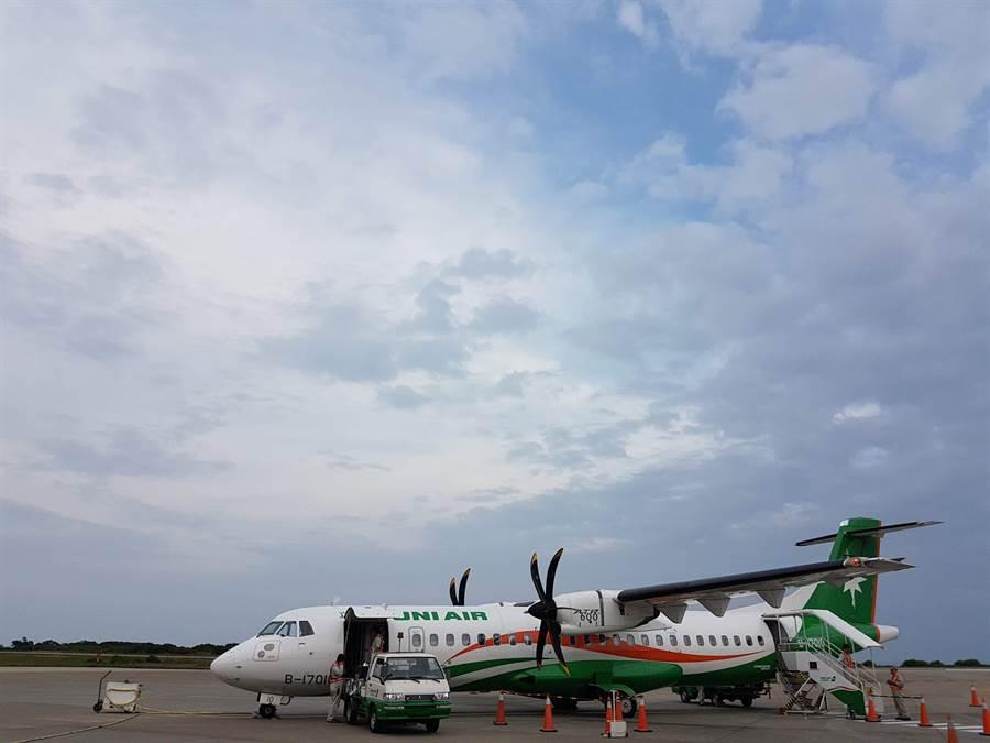 馬祖民眾期盼第二家航空公司進駐,民航局證實華信航空已著手就進駐馬祖展開可行性評估,但尚未正式提出新航線申請作業。(葉書宏攝)