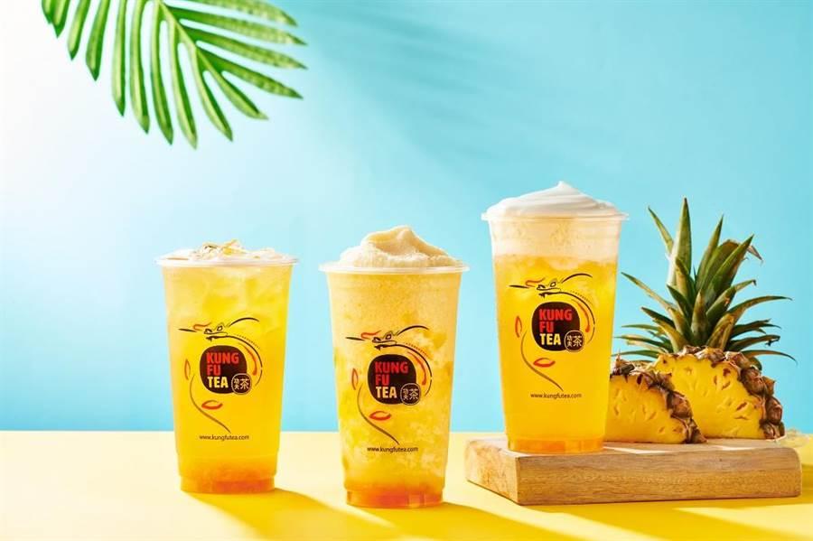 美國功夫茶台灣第一間獨立店8月7日開幕,將推買一送一。(功夫茶提供)