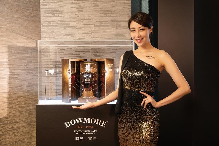「波摩1965」蘇格蘭單一麥芽威士忌,全球限量232瓶,台灣配額5瓶,建議售價:888,000元。圖/業者提供
