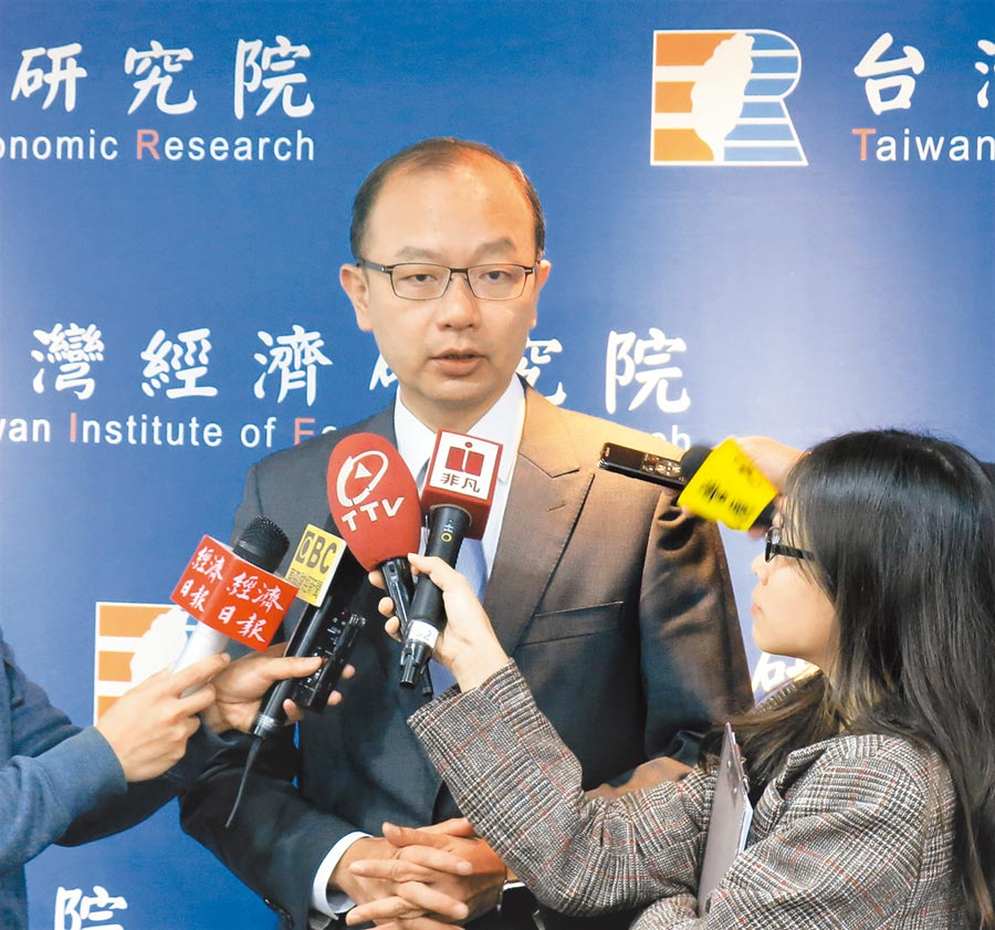 台灣經濟研究院景氣預測中心主任孫明德。(本報系資料照片)