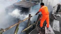 是誰搞鬼?七月詭事多無人漁船起火自燃