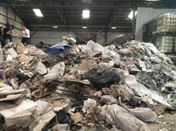 工廠只租一個月棄租 陳倉暗渡百公噸廢棄物