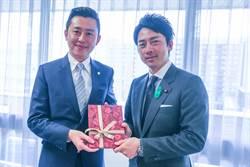 日本型男議員小泉進次郎結婚 林智堅暖心祝賀