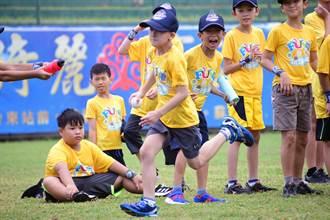 台電「棒球Fun電營」 傳承打球經驗