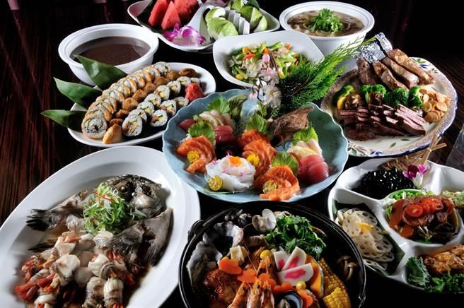 義大皇家酒店聯手Yanagi柳町日本料理推出爸氣食足的和漢饗宴。(業者提供)