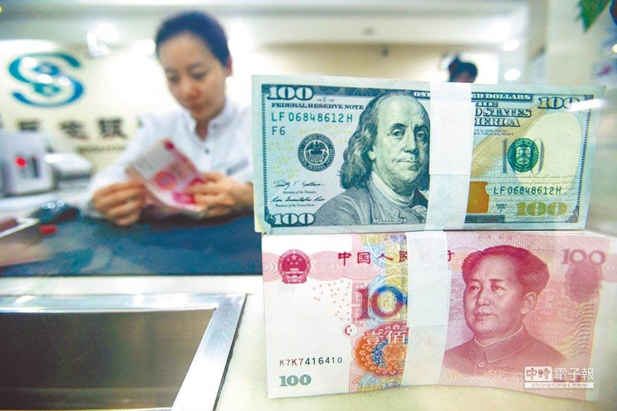 陸美兩國因人民幣匯率爆發衝突(中新社資料照片)