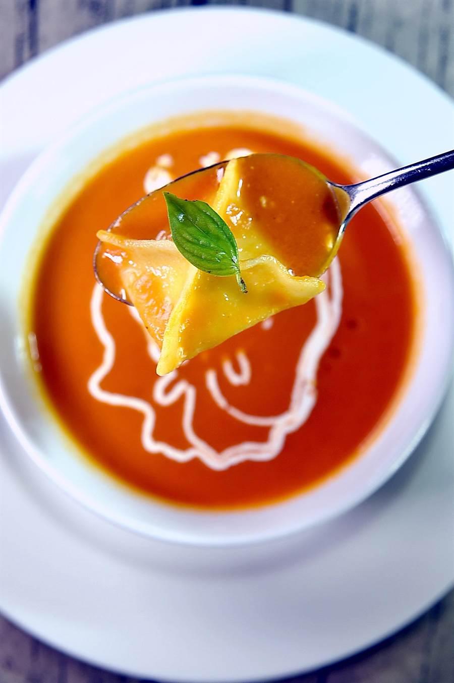 Vincenzo Gatti 為台北君悅〈Ziga Zaga〉設計新菜單,味道很「老」,形色卻很「新」。(圖/姚 舜)