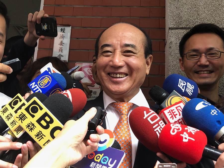 前立法院長王金平。(圖為資料照)