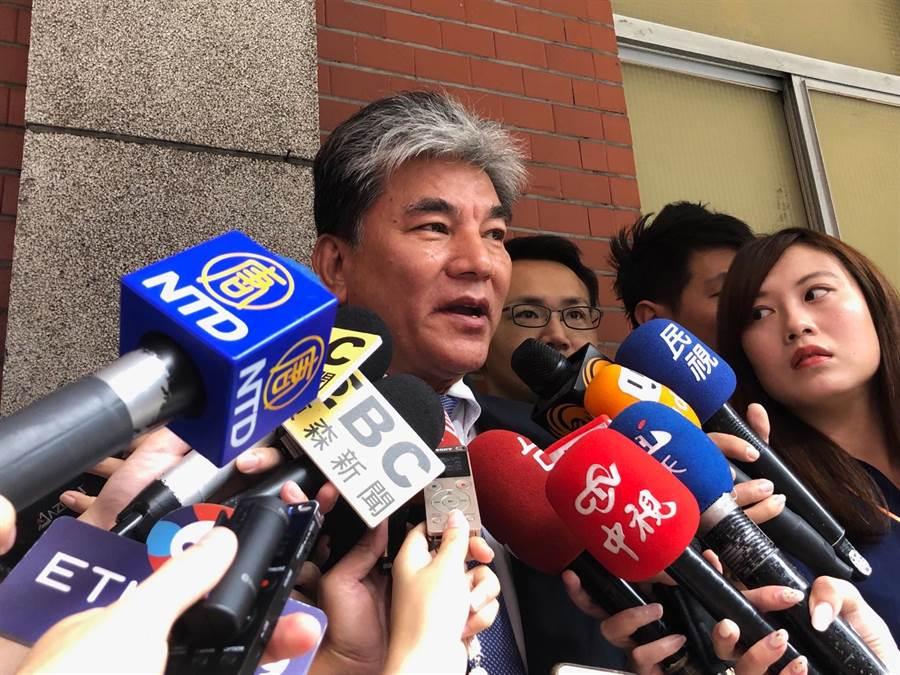 前內政部長今天參加前立法院長王金平舉辦的公聽會。