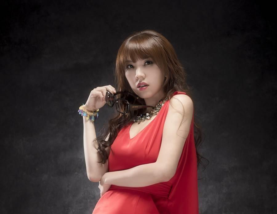 在大陸發展的台灣女藝人劉樂妍。(劉樂妍提供)