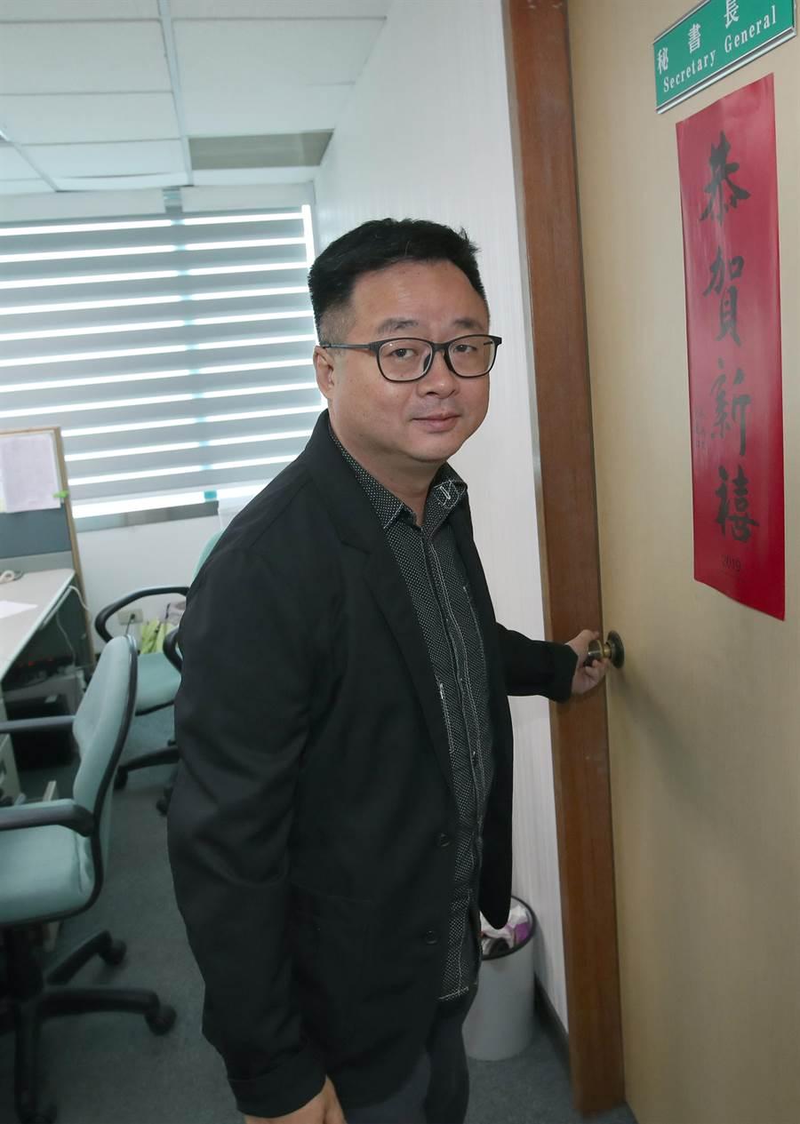 民進黨秘書長羅文嘉。(本報資料照)
