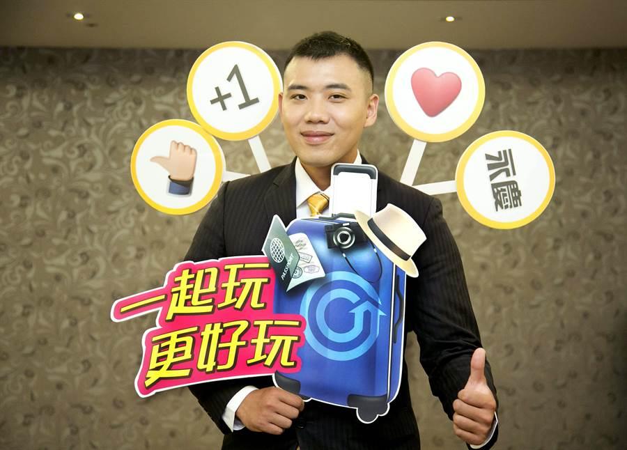 陳競皓連續兩年獲得海外獎勵旅遊最大獎,同仁直呼超羨慕!