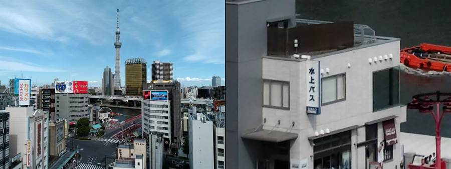小米宣布攜手三星,讓紅米手機首發 6400 萬畫素相機。圖左為 6400 萬畫素相機所拍圖片,右方則是局部放大的照片。(圖/翻攝小米官方公眾號)