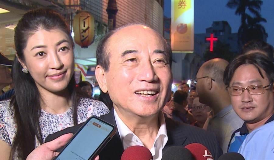 前立法院长王金平未来动向引关注。(本报资料照片)