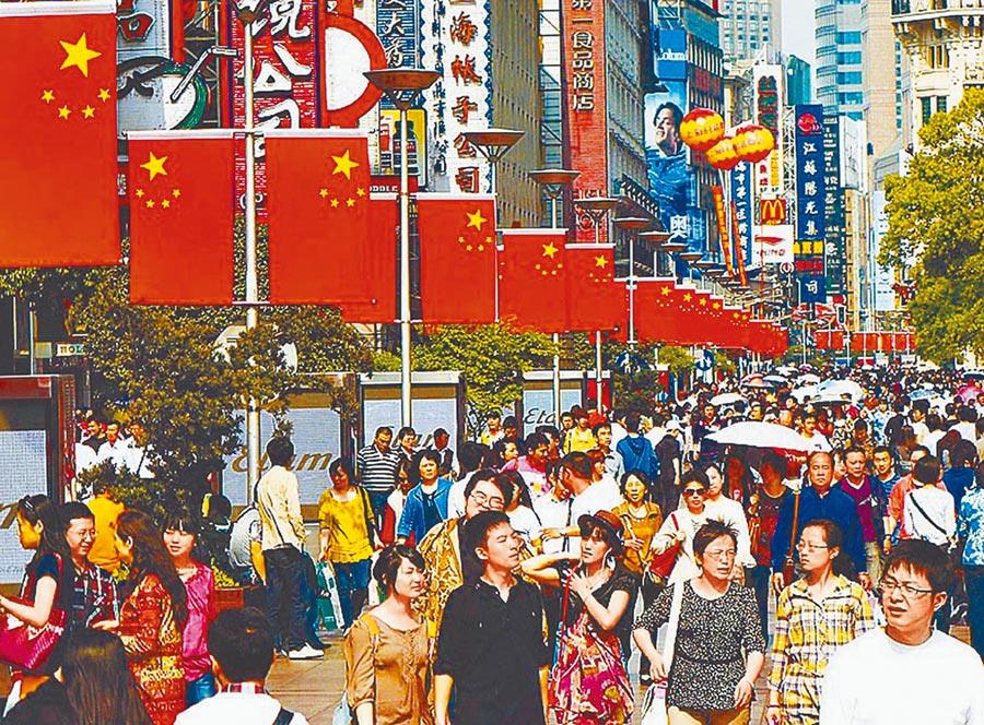 人民幣破7彰顯大陸的「底氣」。圖為大陸內需市場消費力雄厚。(新華社資料照片)