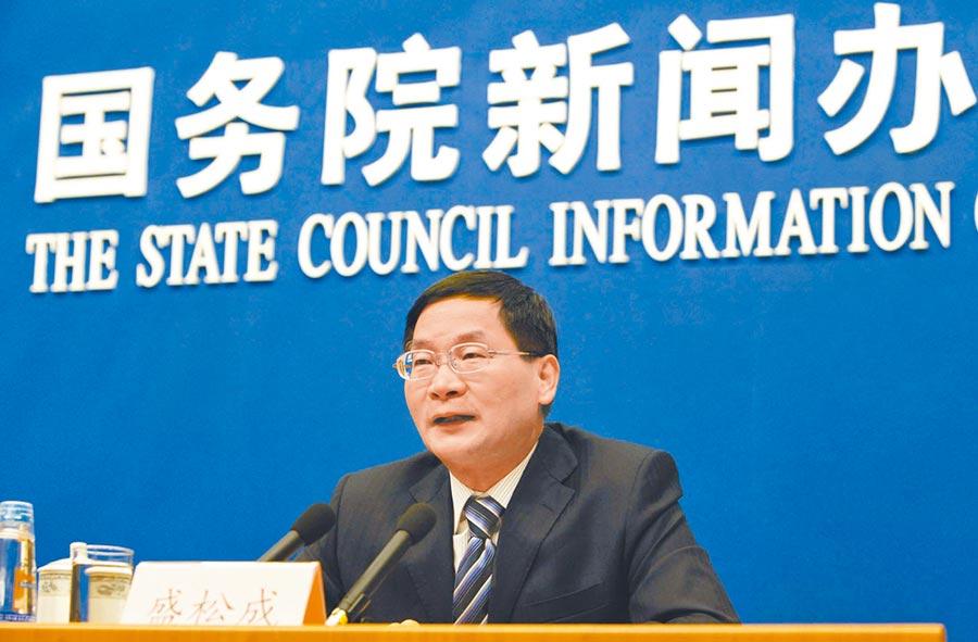 中國人民銀行參事盛松成。(中新社資料照片)