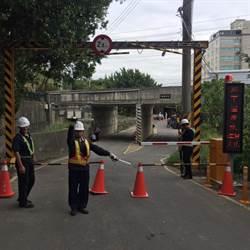 強颱利奇馬 竹市府加強水閘門巡視檢修