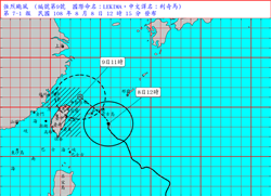 威力持續增強中! CNN:利奇馬恐成超級颱風