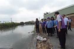 颱風天王惠美視察埔鹽排水 工程明年2月完工