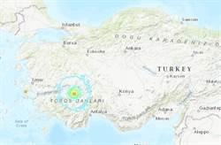 土耳其西南5.8強震 多處房屋受損