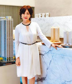 林嘉琪熱愛藝術 打造經典建築