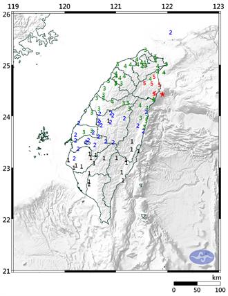 破碎帶引起宜蘭地震 不排除一周內發生6.0以上更大地震
