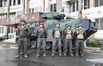 利奇馬升強颱 兩棲登陸車進駐宜蘭