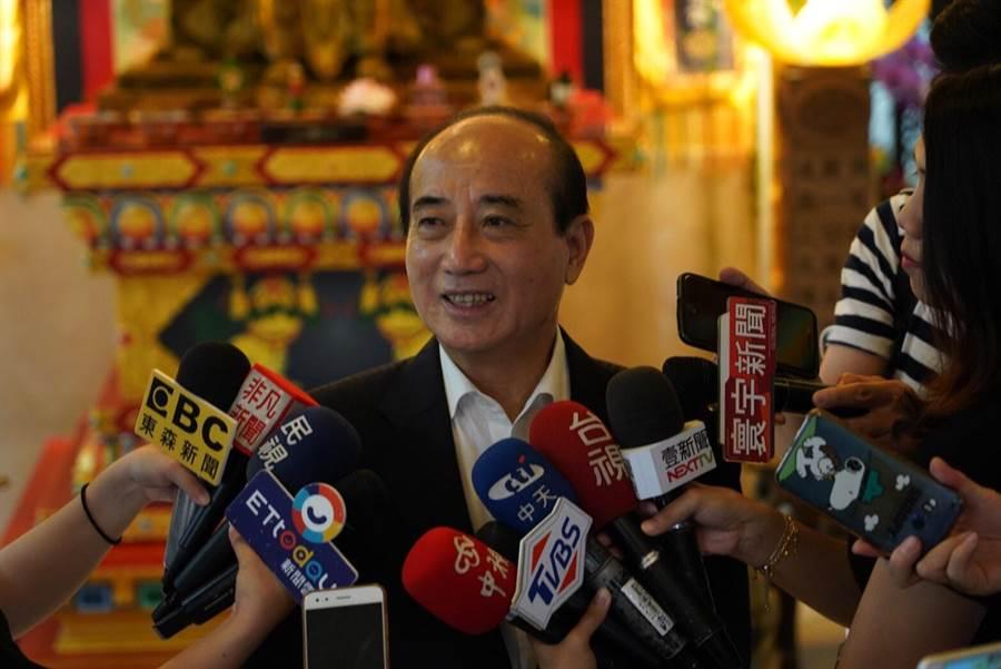 立法院前院長王金平今天認為,台灣現在猶如溫水煮青蛙,喪失許多生機。(柯宗緯翻攝)