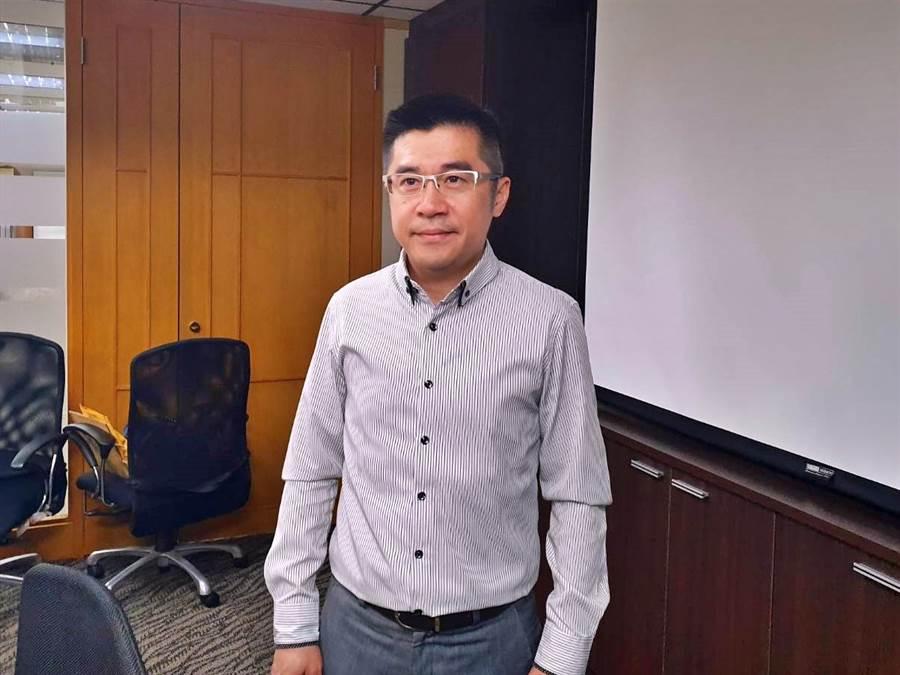 天蔥董事長盧俊賢。(林資傑攝)