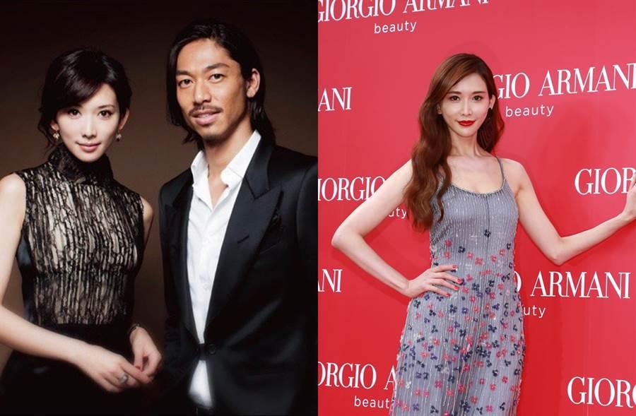 林志玲今年6月閃婚Akira。(圖/翻攝自EXILE-AKIRA微博;達志影像)