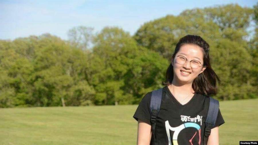 在美遭殺害的大陸女學者章瑩穎。(照片來源:維基百科/伊利諾大學警察局)