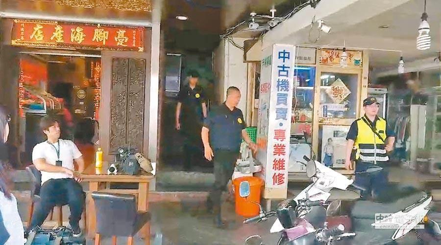黃姓男子在萬華遭凌虐致死,兩名堂兄弟日前向檢警投案。(本報資料照片)