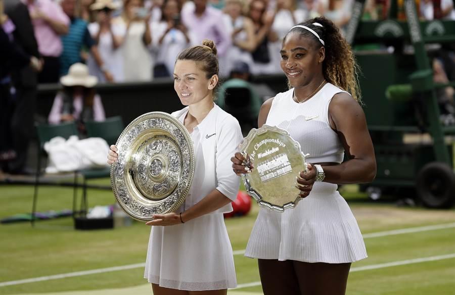 小威廉絲(右)是收入最高的女子運動員,不過和男子選手相比,還是差了一大截。(資料照/美聯社)