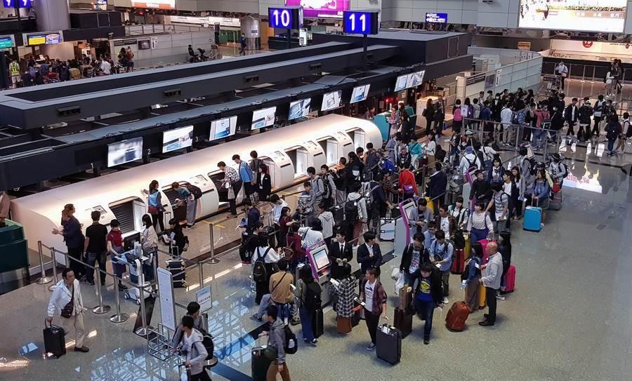 強颱利奇馬來勢洶洶,各航班紛紛釋出異動資訊 (圖/本報資料照)
